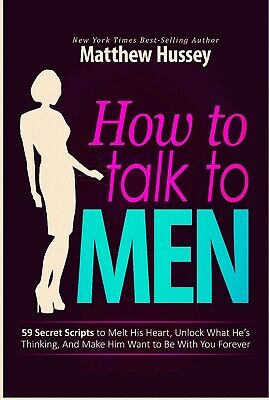 How to Talk to Men - Matthew Hussey kindle=> Digital Book
