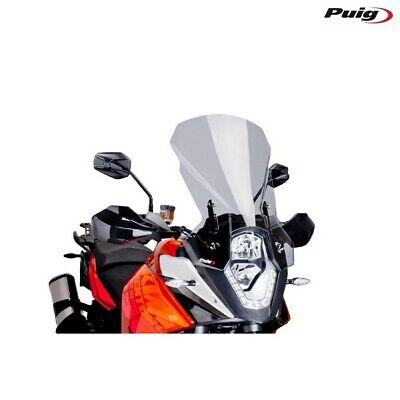 KTM 1050 Adventure 2015 > Fairing Puig Smoked Clear Touring Windscreen