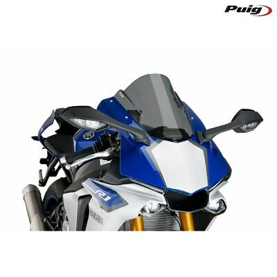 Fairing Racing PUIG Yamaha YZF -R1 2018 Smoke Dark