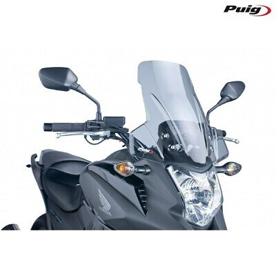 Honda Nc 700 X 2012 > 2013 Fairing PUIG Smoked Clear Touring Windscreen