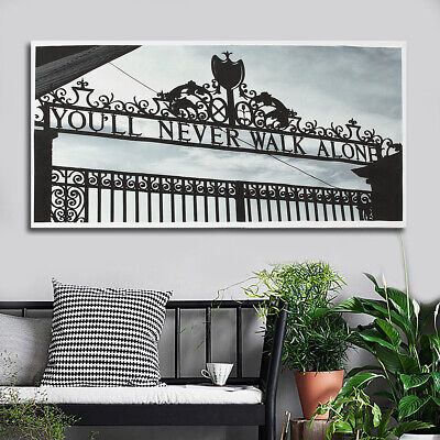 AU Print Wall Decor Black White Door Paintings Art Canvas Pictures Room Poster