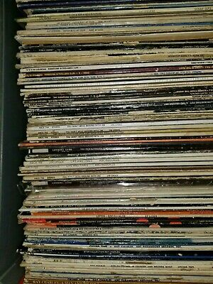"Lot of 12 ~ Vinyl LP Records 12"" 50s 60s 70s mostly RANDOM pop + requests too!"