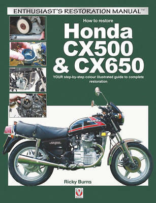 How To Restore Honda Cx500 Cx650 Your Step By Step Color Restoration Guide Book