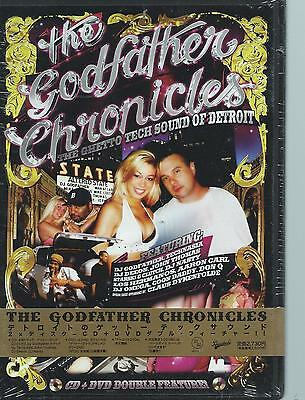 N#W DVD - the GODFATHER CHRONICLES  - the ghetto tech sound of Detroit ZONE ALL