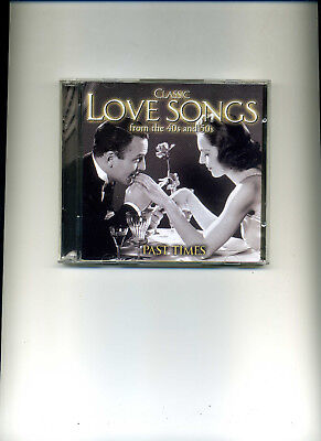 USED CD - 2 discs in case - CLASSIC LOVE SONGS FROM THE 40s AND 50s