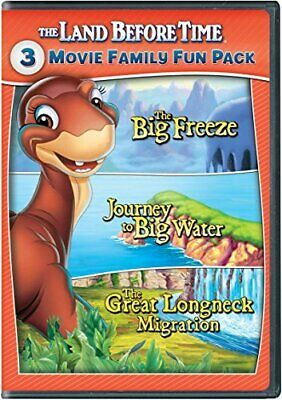 Land Before Time Viii -X 3-Movie Family Fun Pack New Dvd