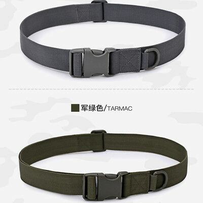 HIGH QUALITY SIMPLE Army Tactical Belt Men Military Waist