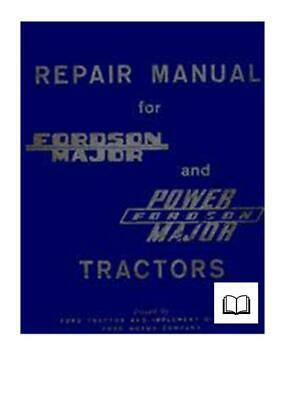 Fordson Major Super Major Repair Workshop Manual Digital
