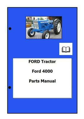 Ford 4000 Parts Manual Digital