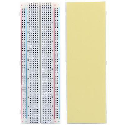830 Tie points Solderless Breadboard Circuit Bread Recyclable Contacts Rainbow