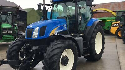 New Holland T6000 Series  All Models Tractors Service Workshop Manual