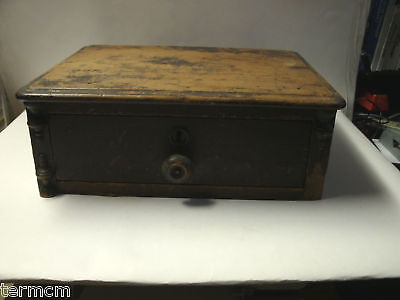 Antique Wood Drawer for Dresser