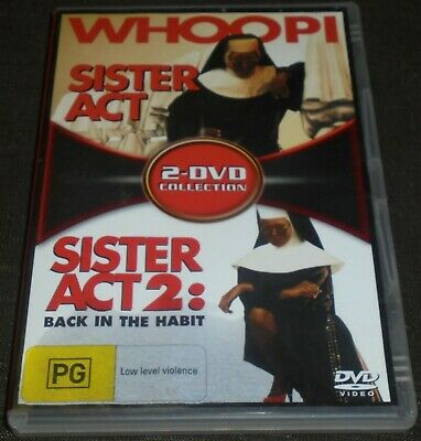 2 Dvd Collection (Sister Act & Sister Act 2 Back In The Habit) Region 4