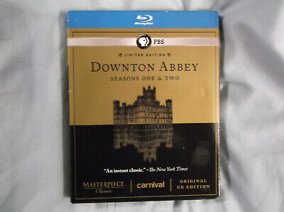 Downton Abbey -Seasons One & Two Limited Edition Blu-ray Season 1 and 2