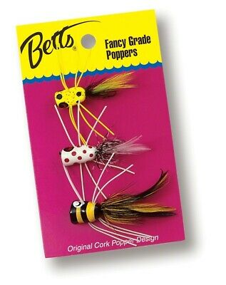 Betts P3-B Bass Popper Value Pack 3 pc
