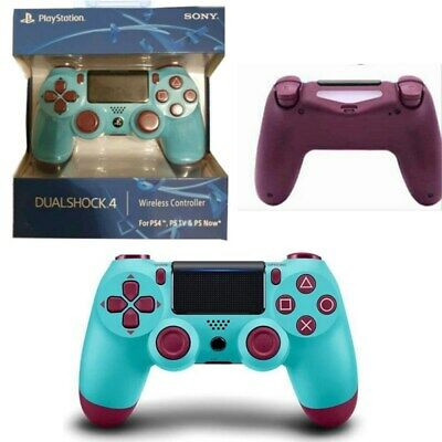 "UK""OFFICIAL SONY"" PS4 DUALSHOCK 4 WIRELESS CONTROLLER - NEW & SEALED Berry BLUE"