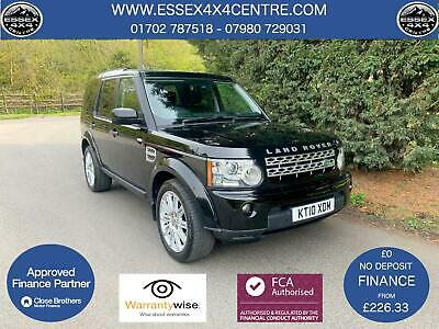 2010 Land Rover Discovery 4 Hse 3.0 Tdv6 Automatic 4X4 7 Seater Turbo Diesel 4X4