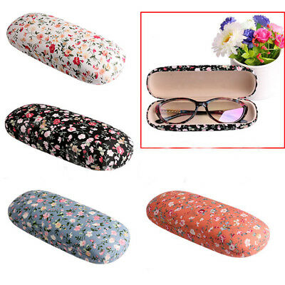 Protable Floral Sunglasses Hard Glasses Case Eyewear Protector Boxes Pouch Bag