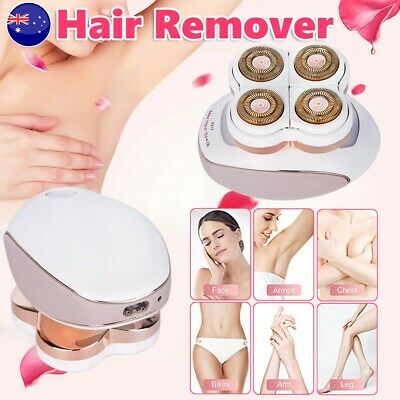 USB Facial Leg Painless Hair Remover Shaver Epilator Trimmer Electric Wet Dry AU