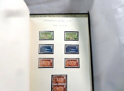 8 Great Britain stamps  commonwealth games 1970  issued 15 july 1970