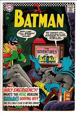 BATMAN #183, 2ND APP POISON IVY, DC Comics (1966)