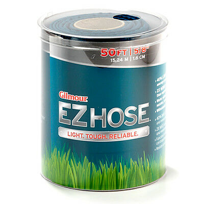 Gilmour 50-Ft. EZ Hose Garden Lawn Brand New Light weight 2x Water Flow