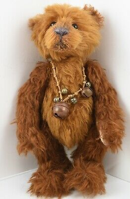 Retired Rare Hard To Find Isabelle Lee Mohair Bear Hazelnut L/E 215 / 350