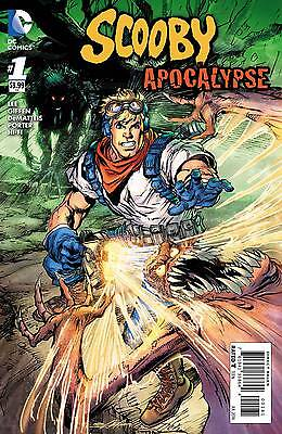 SCOOBY APOCALYPSE #1, FRED VARIANT, New, First Print, DC Comics (2016)