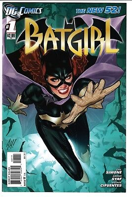 BATGIRL #1, ADAM HUGHES COVER, DC Comics NEW 52 (2011)