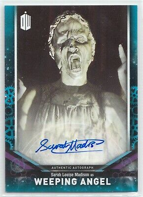 Doctor Who Signature Series 2018 Sarah Madison Weeping Angel Autograph Card /25
