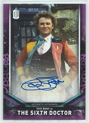 Doctor Who Signature Series 2018 Colin Baker as The Sixth Autograph Card