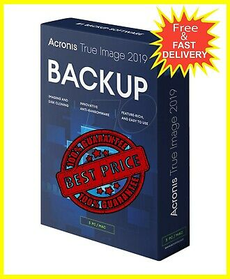 Acronis True Image 2019 🔑 Lifetime Activation  🔐Fast Delivery 📥