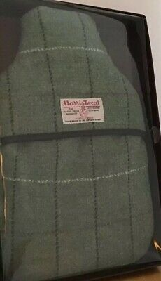 New Harris Tweed Vagabond Bags Check Hot Water Bottle & Cover