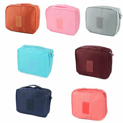 Travel Toiletry Cosmetic Makeup Multi Storage Pouch Case Wash Hanging Bag