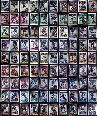 1984-85 O-Pee-Chee OPC Hockey Cards Complete Your Set Pick From List 1-396
