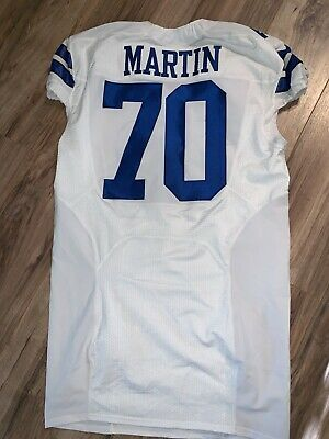 DALLAS COWBOYS ZACK Martin authentic game Nike jersey size 50 White  for cheap
