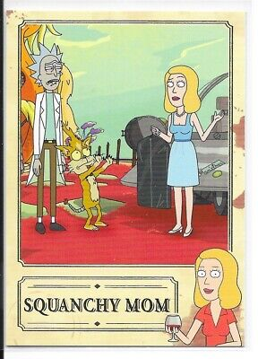 Cryptozoic Rick and Morty Season 2 Beth Knows Best 9 Card Complete Set