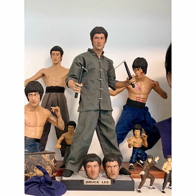 DJ-CUSTOM 1/4 Bruce Lee Way Of The Dragon STATUE Limited Model FIGURE IN STOCK