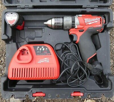 Milwaukee M12 Cpd Drill Compact Hammer Drill.