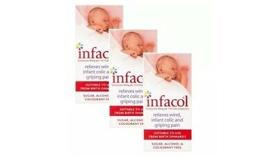 3 Packs X Infacol Colic Relief Suspension 50ml