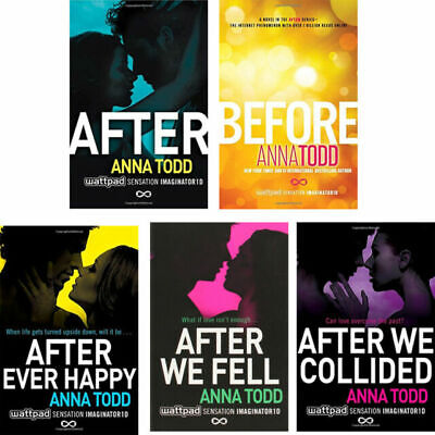 After Series (1-4) by Anna Todd