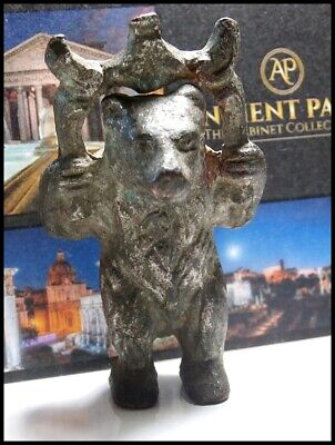 Celtic Iron Age Zoomorphic Votive Figurine to Goddess Artio The Bear 1st C. BC