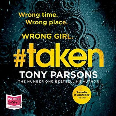 #taken DC Max Wolfe, Book 6 By: Tony Parsons (Audiobook)