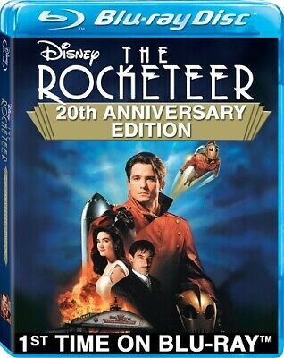 THE ROCKETEER New Sealed Blu-ray 20th Anniversary Edition