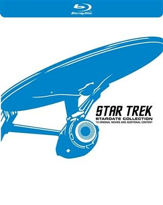 STAR TREK STARDATE COLLECTION New Sealed Blu-ray All 10 Films