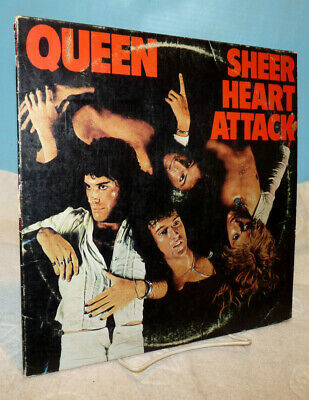Queen ~ Sheer Heart Attack ~ 1974 ~ Vinyl LP ~ Elektra Records ~ 7E-1026