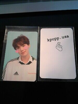BTS Love Yourself Answer Version F Yoongi/Suga Official Photocard
