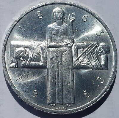 Switzerland 5 Francs Silver Coins 1963-1967 Pick Yours