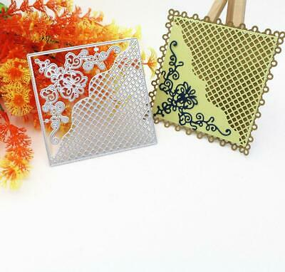 Lace Hollow Metal Cutting Dies Stencil Scrapbooking Card Embossing DIY Craft