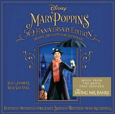 Mary Poppins 50Th Anniversary Edition Soundtrack / New Cd
